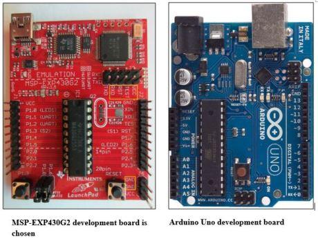 MSP430 and Arduino